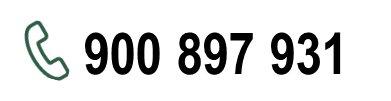 Llamada gratuita 900 897 931