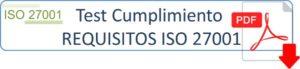 Descargar test cumplimiento ISO 27001 PDF
